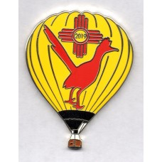 Albuquerque 2019 Roadrunner Balloon Yellow Silver
