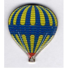 Atmosfer Balloons Blue Yellow Pax Carrier Silver
