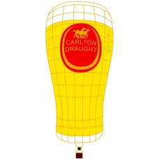 Carlton Draught Pint Pot VH-PSR Gold