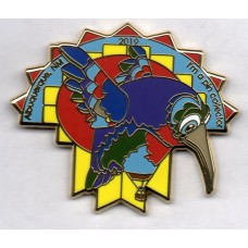 Hummingbird Albuquerque 2019 I'm a Pin Collector Gold