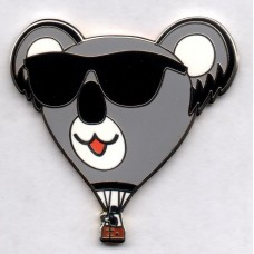 Cool Koala with Sunglasses Silver