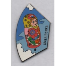 Matrioshka Russian Doll Puzzle Piece