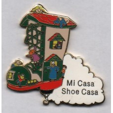 Old Ladyshoe Mi Casa Shoe Casa on Cloud Gold