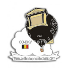 E5 Mode Old Balloon Collectors Silver OO-BKV