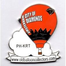 Amsterdam City of Diamonds OBC PH-KRT Silver