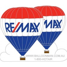 Remax on Cloud Double VH-VCN Balloonman.com Silver