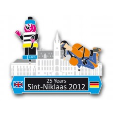 Sint Niklaas 2012 25 Years Silver White Bertie and Action Man