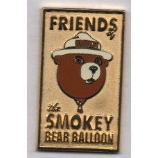 Friends of the Smokey Bear Balloon Gold