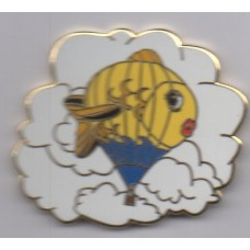 Fish on Clouds Gold