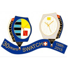 Swatch 30 Years G-BMJJ 1985 - 2015 Gold