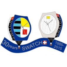 Swatch 30 Years G-BMJJ 1985 - 2015 Silver