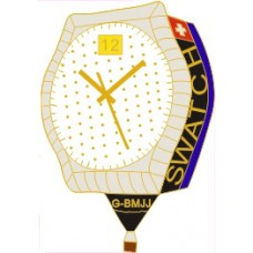 Swatch Watch G-BMJJ White Side Gold