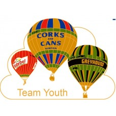 Team Youth Triple Cork and Cans Babybel Greyhound Gold
