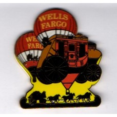 Wells Fargo Balloon Team Stagecoach and 2 Round Triple